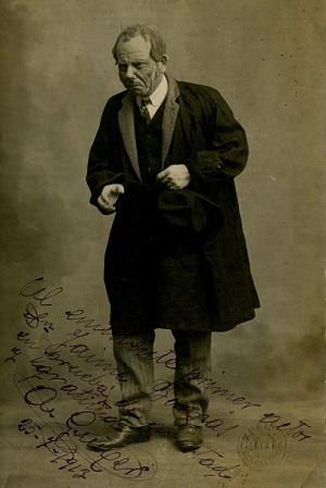 Andreu Guixer, actor. Institut del Teatre. Centre de Documentació i Museu de les Arts Escèniques (MAE)